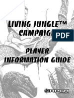 RPGA Living Jungle Campaign Player Information Guide