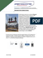 Andamio Multidireccional 2016