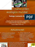 Por un nuevo orden ecológico mundial