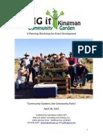 Community Gardening Action Plan 4.27.15
