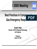 Best Practices in Compressed Gas Emergency Response