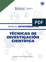 A0932 Tecnicas de Investigacion Cientifica MAU01