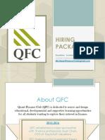 QFC Hiring Package