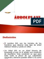Árboles AVL