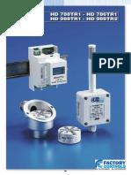 HD988TR1 DIN Pt100 Temperature Transmitter