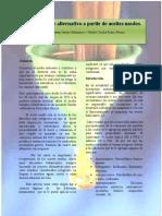 Biocombustibles a Partir de Aceites Usados Con Tecnicas de Limpieza