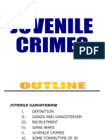 Juvenile Delinquency Lecture