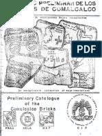 Catálogo Preliminar Tabiques Comalcalco 1
