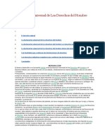 Declaración Universal de Los Derechoshumanosdocx