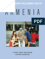 Peace Corps Armenia Welcome Book | October 2006