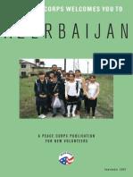 Peace Corps Azerbaijan Welcome Book  |  September 2007