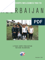 Peace Corps Azerbaijan Welcome Book  |  September 2007