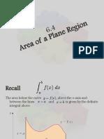 Area and DE