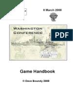 Washington Conference Game Handbook Without Maps
