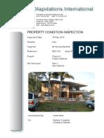 Building Dilapidations International Sample Report with Gauge