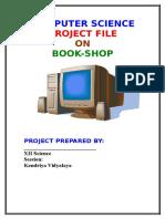 book shop C++