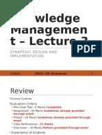 KM Lecture 3