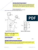 Weld & Base Metal Fatigue Analysis