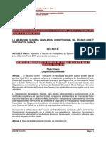Presupuesto de Egresos 2016 Oaxaca