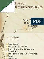 The Learning Organization Presentation.ppt