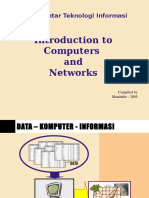 Intro to Computers and Networks