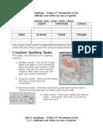 Week 11 Prefixes and Hyphens