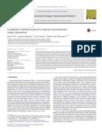 Environmental Impact Assessme2Fj.eiar.2013_a, Ignacio_ Duarte, Oscar_ Zamorano, Montser -- A qualitative method proposal ~1