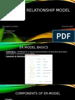 Entity Relationship Model (Poster)