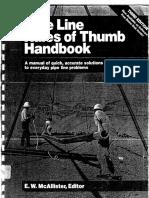 Pipe Line Rules of Thumb Handbook