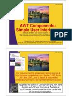11 AWT Components