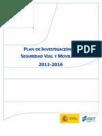 Plan de Investigacion DGT 2014