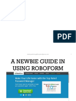 Roboform Tutorial