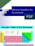 Hansen 2010 April 13 Mineral Nutrition Ruminant