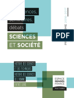 Histoire Des Sciences 2017