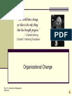 Module 5.2 Organizational Change