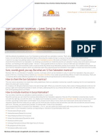Sun Salutation Mantras _ Surya Namskar Mantras Meaning