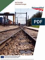 European Rail Freight Corridor August 2012