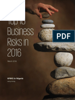 Top 10 Business Risks in 2016