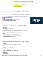 Upwork (ODesk) Test Answers - ASP.net 2.0 Using VB Test 2016 -