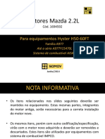 Montagem Motores Mazda 2.2l Hyster - Sistema de Combustível Aisan