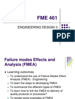 Lecture 3 - FMEA pdf | Risk | Production And Manufacturing
