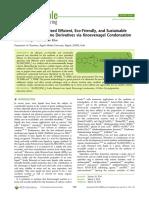 catalizador eficiente, sustentable y ecologicamente amigable para la sintesis de la quinolina