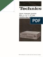 Hfe Technics Su-V10x en User Manual Amp