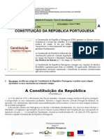 7- A Constituição - Trabalho de Grupo