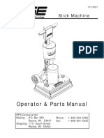 Edge Operator Manual Parts