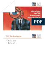 DSEAR Training - Operations