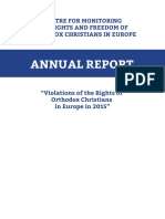 annual_report_2015=Violations of the Rights of Orthodox Christians