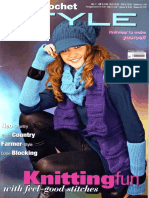 Austerman Knit and Crochet Style Magazine - No 7