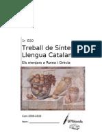 Treball de Sintesi Ll. Catalana 1r Eso 2009-10
