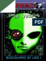Conspiracy X - Psi Wars (BoL2)